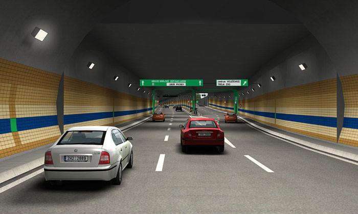 Tunelový komplex Blanka přinese iTrojský most