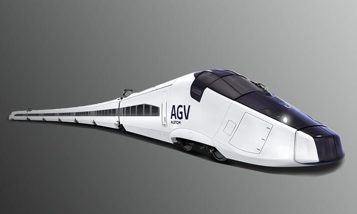 Luxusní rychlovlak AGV pojede 360 km/h