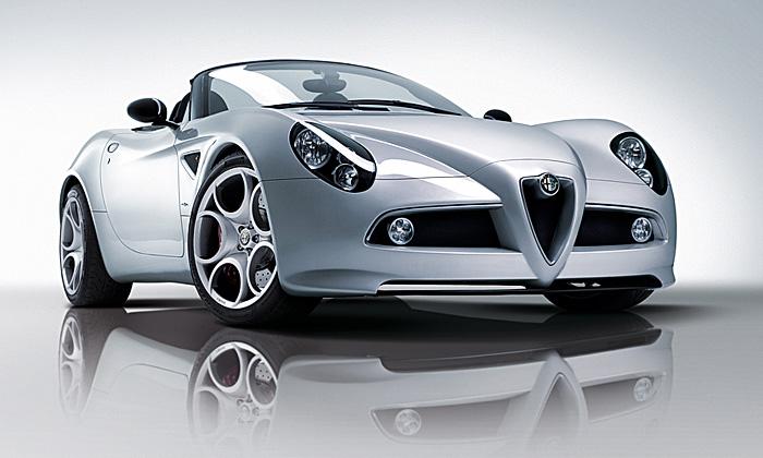 Alfa Romeo 8C Competizione Spider: Italové umí