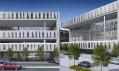 Vizualizace karlínské budovy Amazon Court