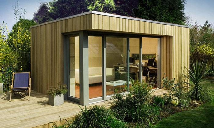 Prefabrikovaný dům isvybavením odEcoSpace