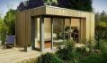 Nejmenší varianta domu EcoSpace na vizualizaci
