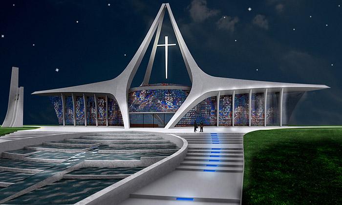 Češi postaví novou katedrálu vafrickém Gabonu