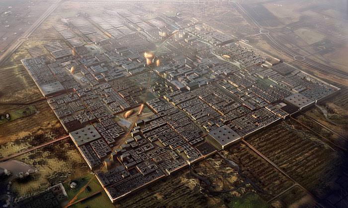 Norman Foster navrhl nejekologičtější město světa