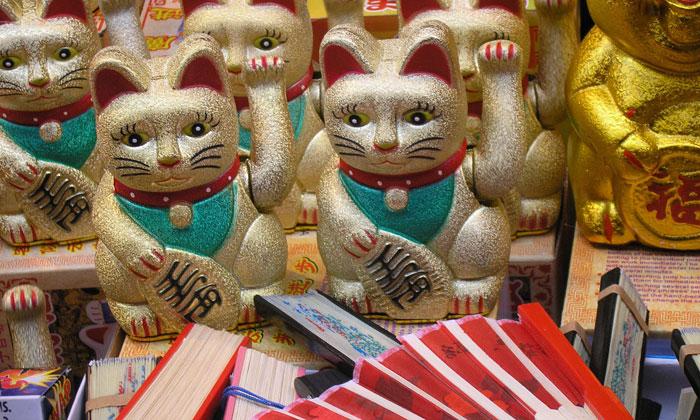 Londýn vítá Čínský Nový Rok Potkana