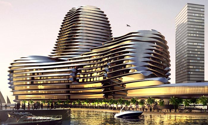 Odhaleno Světové obchodní centrum vAbu Dhabi