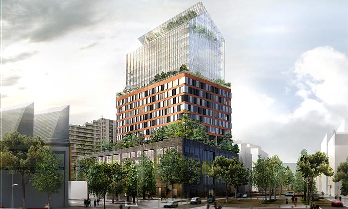 Nouvel postaví uPaříže atypický mrakodrap