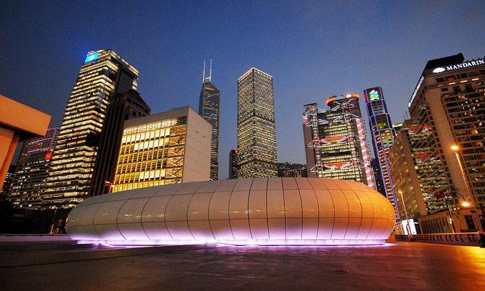 Zaha Hadid vytvořila pavilon umění pro Chanel