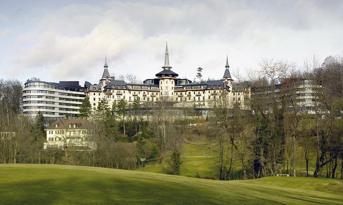 V dubnu seotevírá luxusní Dolder Grand Hotel