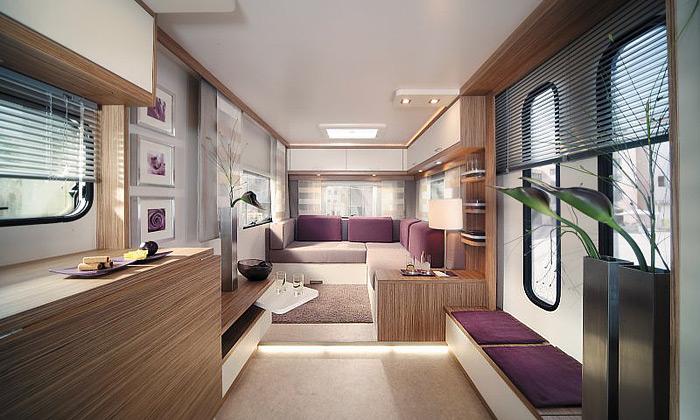 Luxusní bydlení vkaravanu Deseo Lifestyle