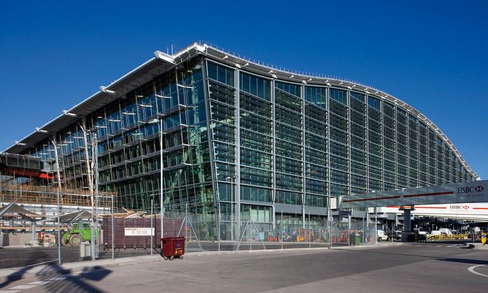 Nový Terminal 5 naletišti Heathrow seotevírá