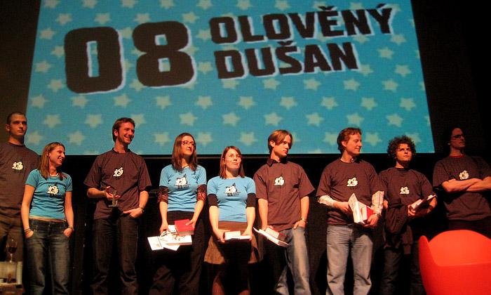 Předána naklonovaná cena Olověný Dušan 2008