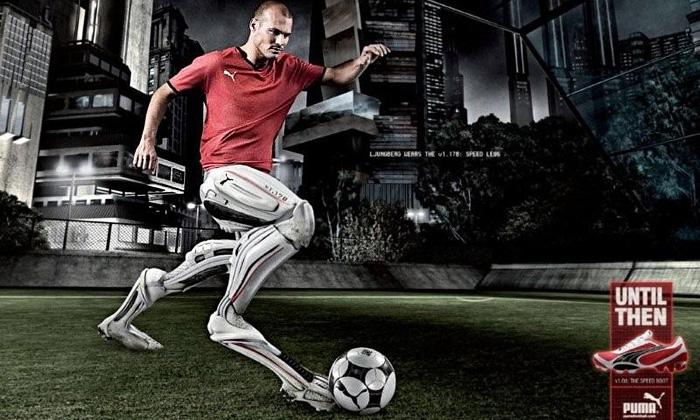 Nové kopačky Puma istylové doplňky pro fotbalisty