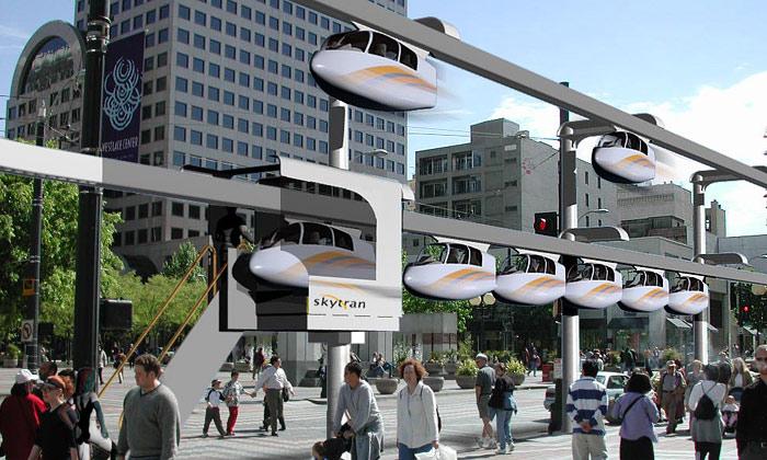 Budoucnost městské dopravy zachrání SkyTran