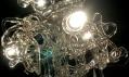 Výsledná skleněný lustr René Roubíčka