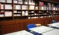 Knihovna Design Cabinet, která senachází vbudově ABF