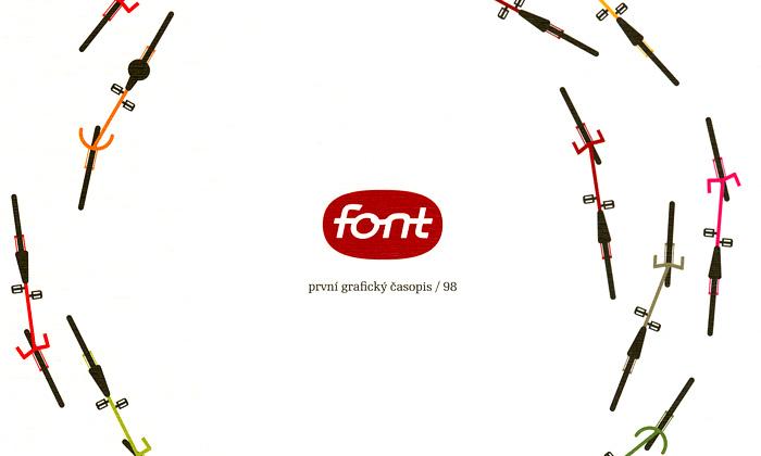 Vychází grafický časopis Font věnovaný bicyklům
