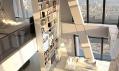 Luxusní mezonetové byty v rezidentní části budovy