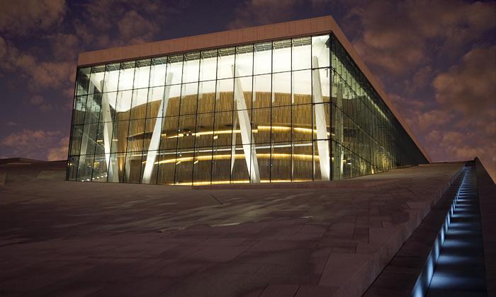 Oslo má novou budovu opery postavenou navodě