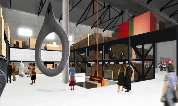 Nové experimentální prostory odAMO vMiláně