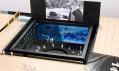 Model takzvaného boxu s moderním uměním, který bude zapuštěn do země