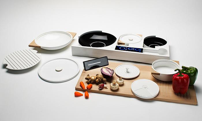 Budoucnost vaření vkompaktním setu pro jednoho