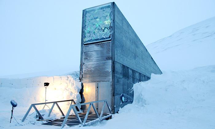 Norsko otevřelo podzemní banku rostlin světa