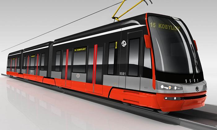 Představena tramvaj Škoda ForCity určená Praze