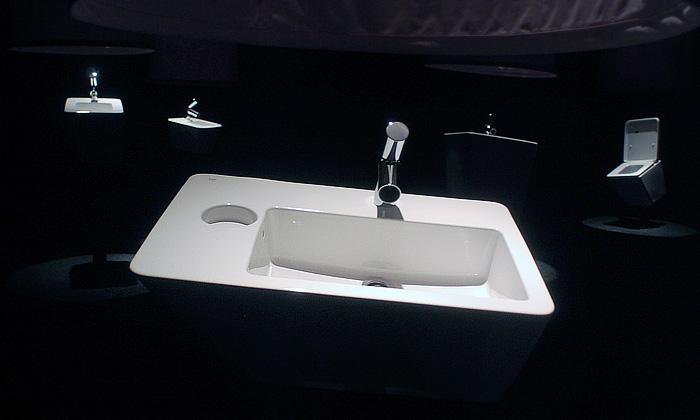 Wiel Arets představil novou koupelnovou řadu dOt