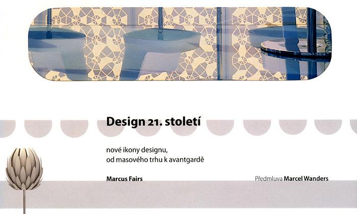 Česky mluvící kniha zabírající Design 21.století
