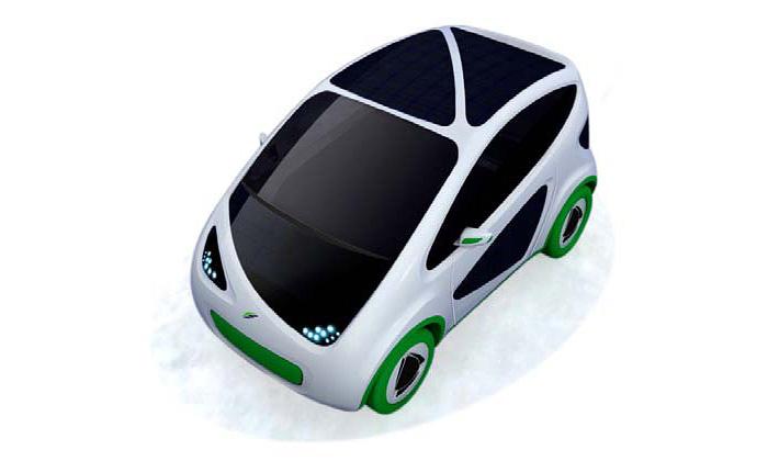 Malé aekologické městké vozítko Fiat Philla