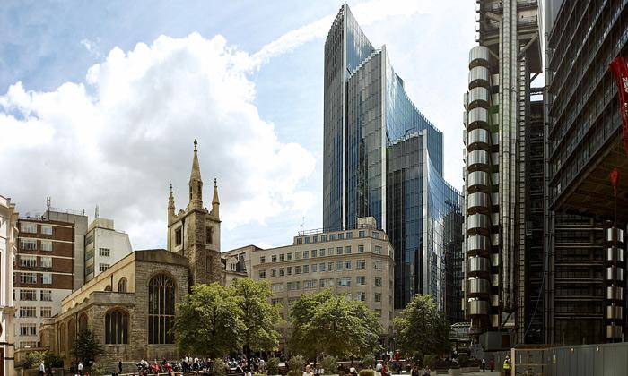 U londýnské Okurky vyrostly tři plachty firmy Willis