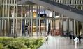 Vchod do Nouvelova mrakodrpau na vizualizaci