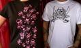 Ukázka triček značky Punktura