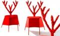 Červené křeslo Red Deer od Bohuslava Horáka