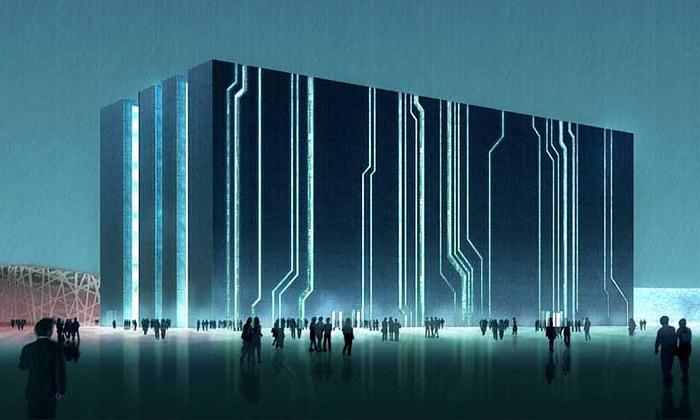 Peking má novou vládní budovu letní olympiády