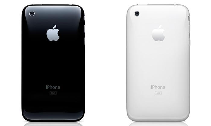 Apple předvedl inovovaný iPhone včerné abílé