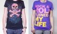Dívčí trička GLAMOUR KILLS