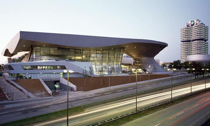 Nové muzeum BMW láká natechniku iarchitekturu
