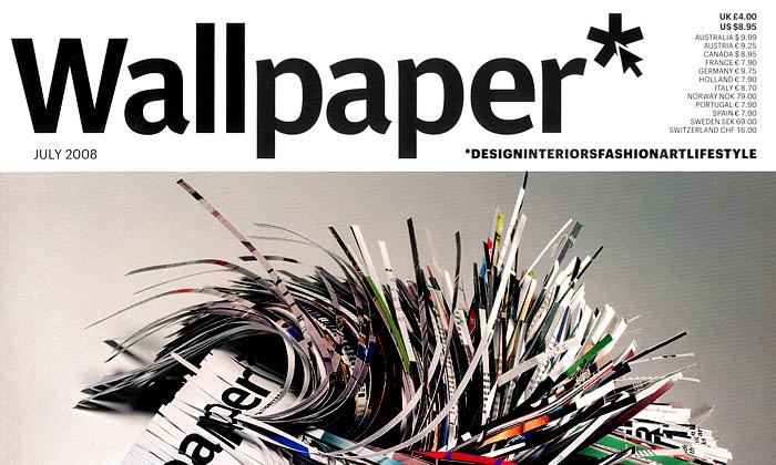 Wallpaper nasvětové špici časopisů odesignu