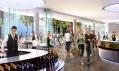 Veřejně přístupná část hotelu Clarence s barem a kavárnou