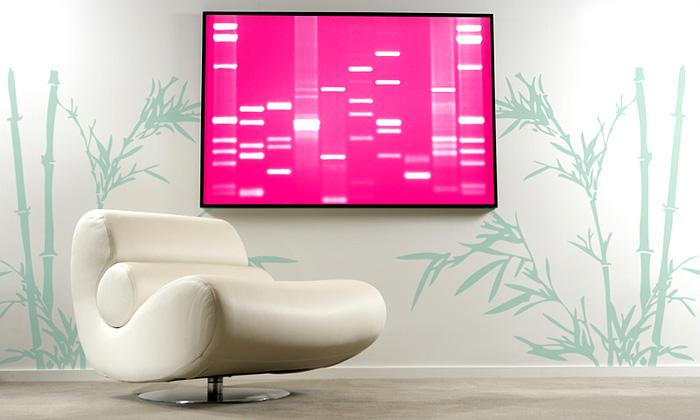 Jedinečné obrazy zvlastního kódu DNA