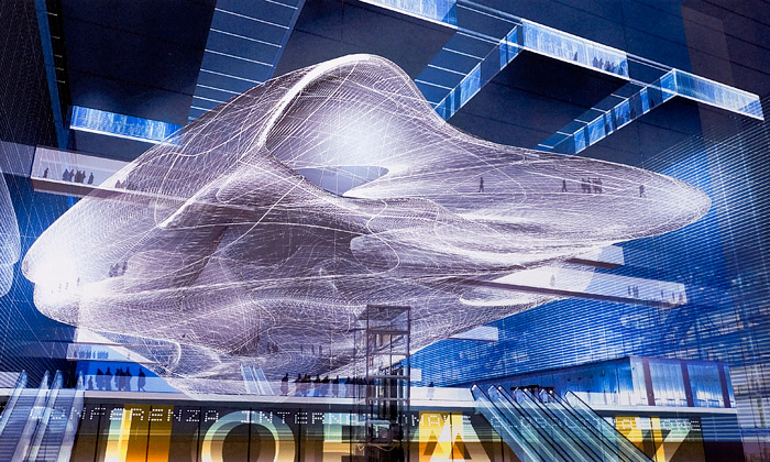 Řim staví kongresové centrum zteflonového oblaku