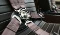 Detail pětibodových pásu pro piloty