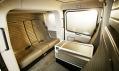 Velmi prostorná kabina pro cestující