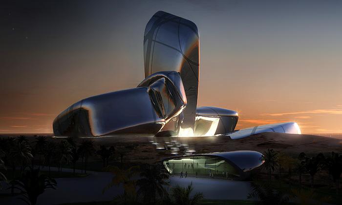 Snøhetta postaví saúdskoarabské centrum zkamenů
