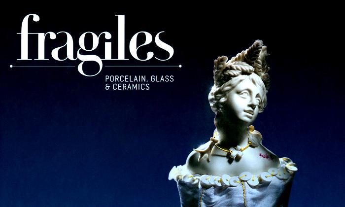 Moderní světové sklo aporcelán vknize Fragiles