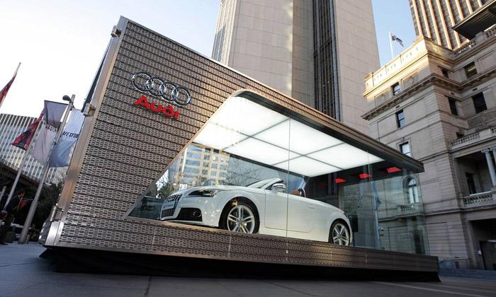Audi má vAustrálii nakaždé auto jednu prodejnu