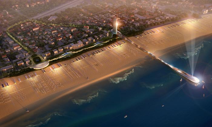 Rimini odhalilo Fosterův plán přestavby pobřeží