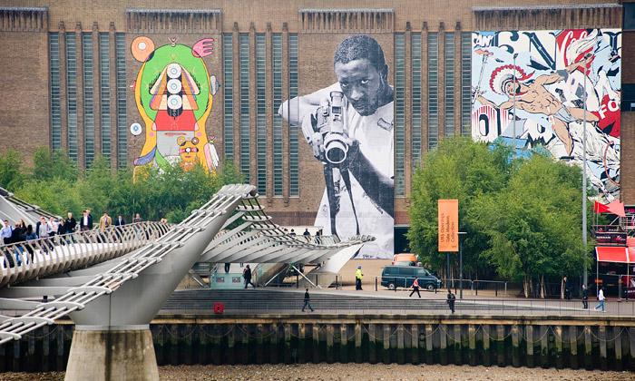 Street Art dvakrát jinak vTate Modern aTunnelu